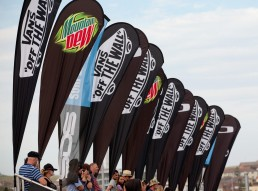 Bowl-A-Rama Teardrop Banners