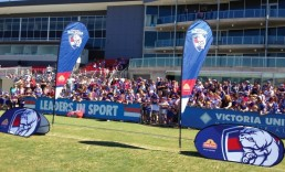 ExpandaBrand-Pop-Up-A-Frames_WesternBulldogs-Event-Branding
