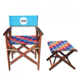 Printed Directors Chairs