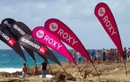 Quiksilver Roxy Teardrop Banners