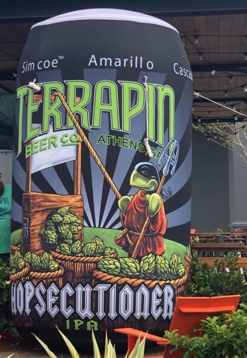 Terrapin Inflatable Can