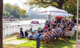 Branded-Deck-Chairs-on the river