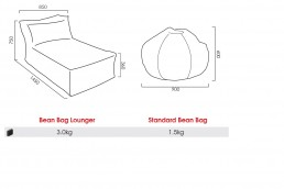 Branded Bean Bags Specifications