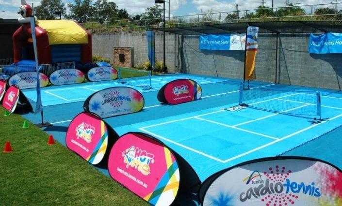 A-Frame Banners - Cardio tennis
