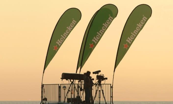 Teardrop Banner-Heineken