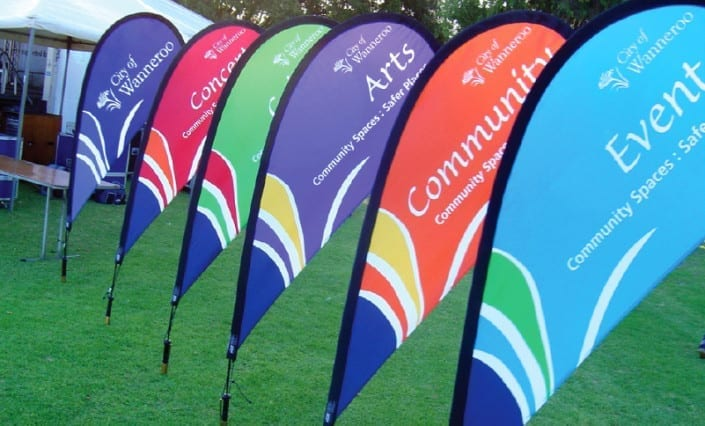 Teardrop-Banners-and-Flags-Wanneroo