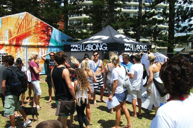 ExpandaBrand-Event-Branding_Billabong-Beach-Event_Marquees