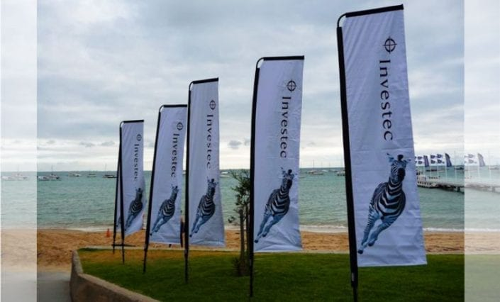 Feather Banners - Investec