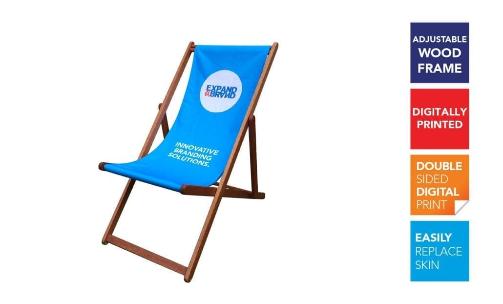 Branded Deck Chairs Functional Branding