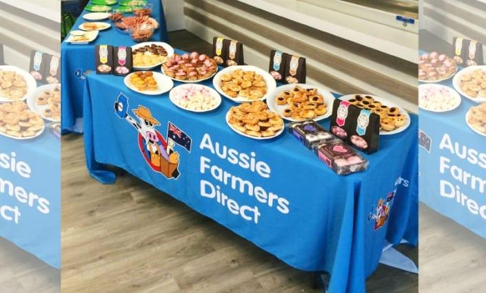 Promotional Table-Cloths AussieFarmers