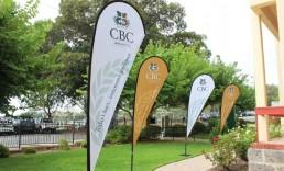 Teardrop Banners CBC
