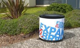 ExpandaBrand-Teardrop-Event-Bins-garden