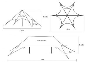 Star Tent Sizes