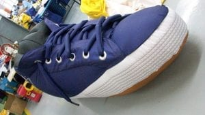 Custom Inflatable Shoe