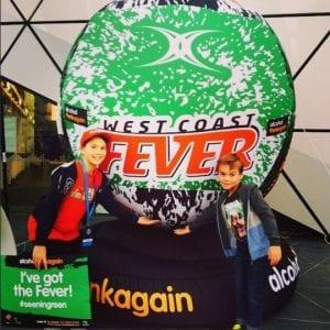 Giant Inflatable Netball