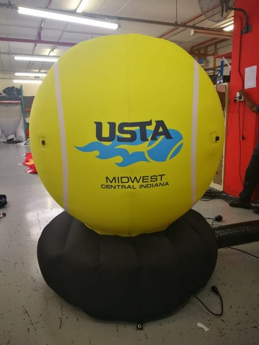 Branded Inflatable Tennis Ball